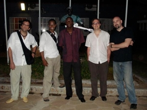 The Ryan Cohen Quartet in Africa with legend Oliver Mtukudzi