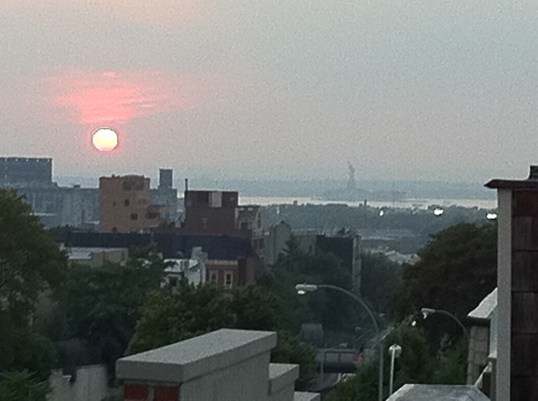View from my roof in Brooklyn